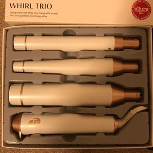 Other - T3 whirl trio styling wand with 3 barrels
